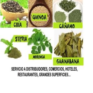 Superlimentos: Quinoa, Chía, Bayas de Goji, Cáñamo,Moringa,