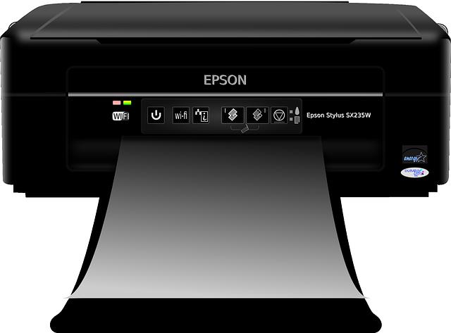 Impresora marca Epson de cartuchos de tinta.
